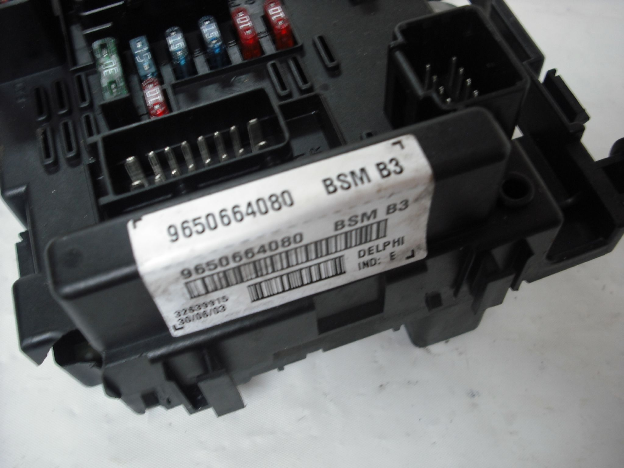 sorry out of stock ................. citroen c8 peugeot 807 fuse box controller 9650664080 bsm b3 delphi [2] 6197 p out of stock citroen c8 peugeot 807 fuse box delphi fuse box at bayanpartner.co